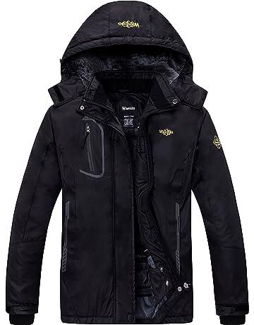 Wantdo Women s Mountain Waterproof Ski Jacket Windproof Rain Jacket f4be23460