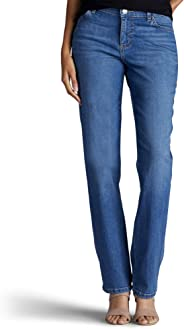 Lee Women's Tall Relaxed Fit Straight Leg Jean