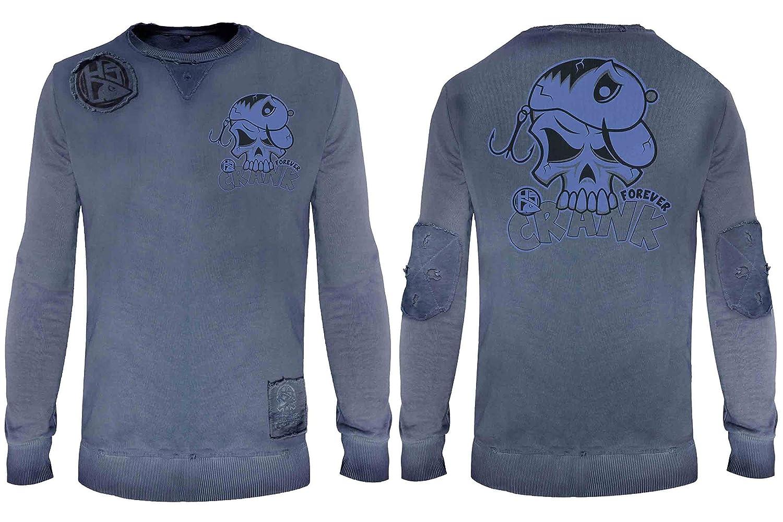 HOTSPOT DESIGN Sweat-Shirt Crank Forever Gr. L