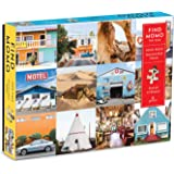 """Galison Find Momo Search and Find Puzzle, 1,000 Pieces, 27"""" x 20'' – Piece Together and Find Momo the Dog in 12 Images - Thic"""