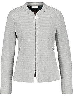 Gerry Weber Damen Jacke Strick Jacke aus gekochter Wolle  Amazon.de ... 3cb5a8c0e9