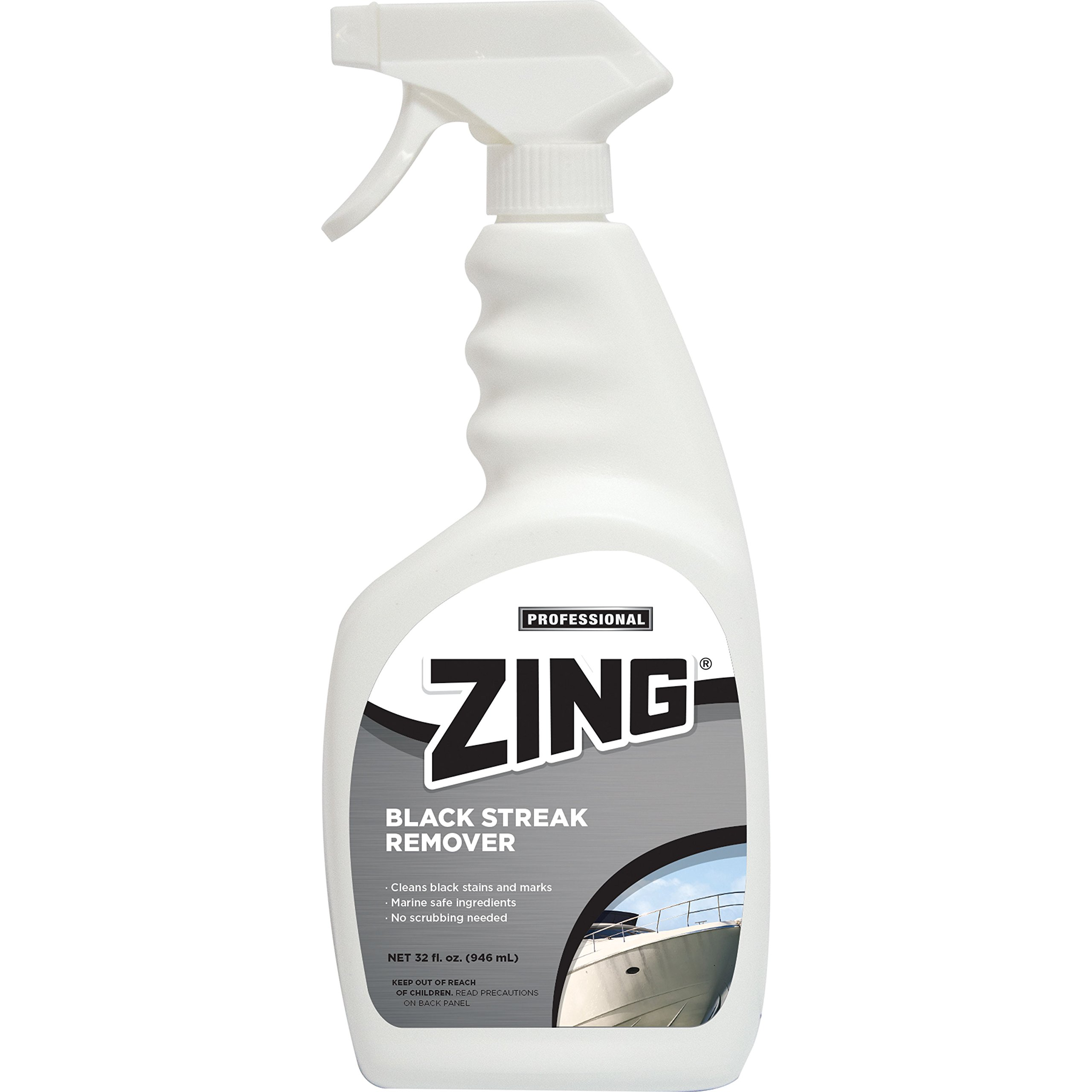 Zing Z495-QPS6 Professional Black Streak Remover - 32 oz. Spray Bottle