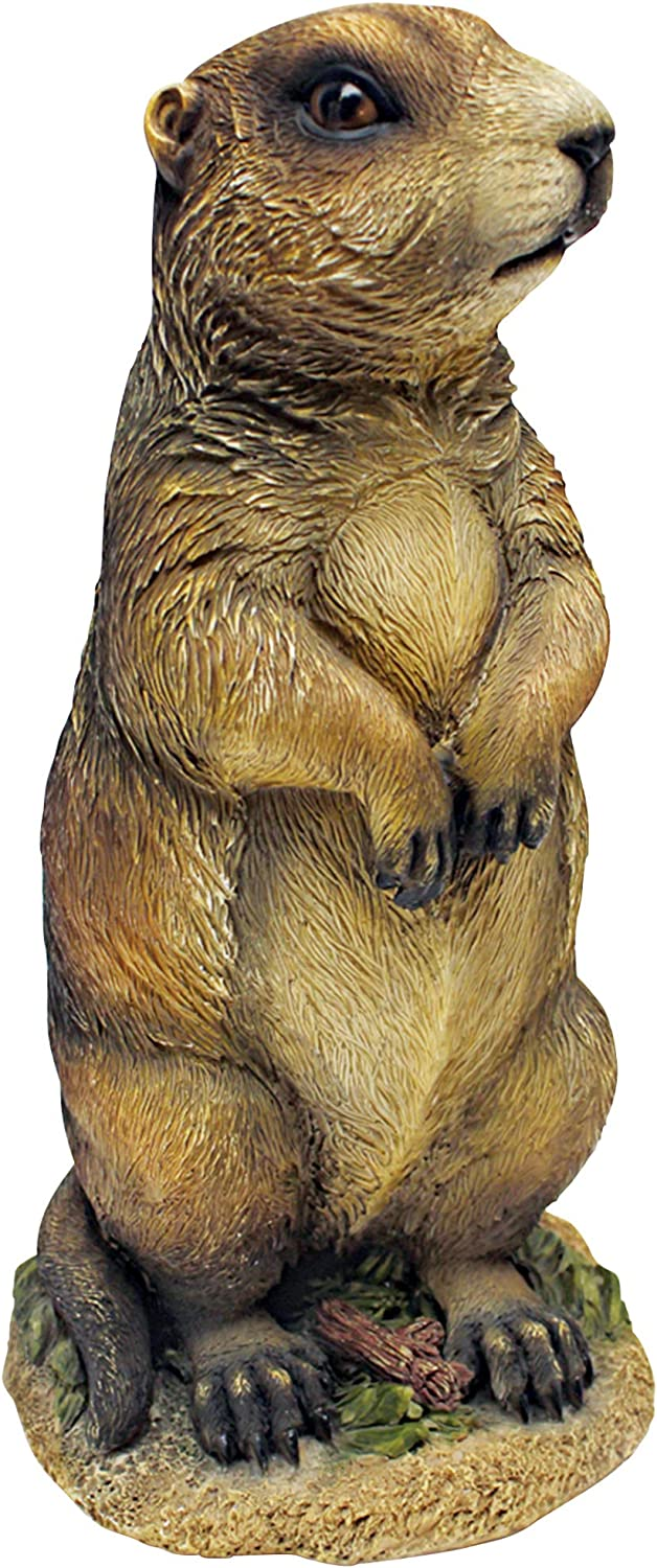 Design Toscano Pesty The Garden Gopher Statue,Full Color