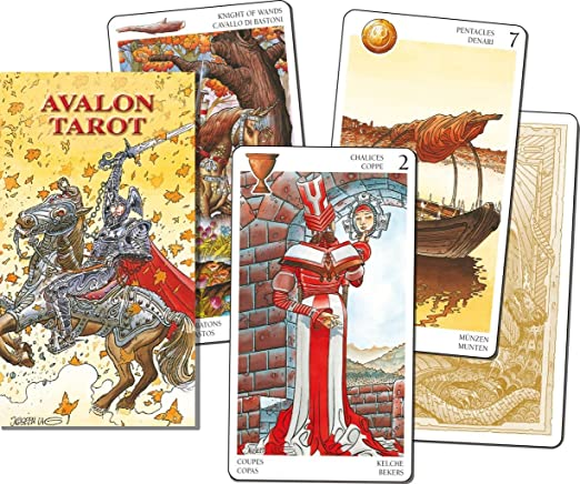 Scarabeo lo: avalon cartes de tarot de réparation: Amazon.es: Hogar