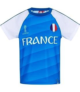 2018 FIFA World Cup Chicos Camiseta Manga Corta - Azul