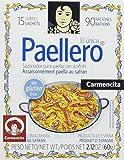 Carmencita Mezcla de Especias para Paella, 1 paquete