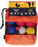 Outside Inside Backpack Bocce, Portable, Compact, Travel Size for Camping, Home and Travel