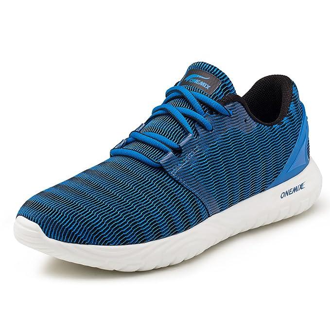 ONEMIX Zapatillas Deporte Hombre Calzado Deportivo para Correr Zapatillas Ligeras Transpirables 39-46