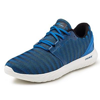 496cdfadd1fbde onemix Laufschuhe Herren Sneaker Leichte Sportschuhe Fitness Turnschuhe  Sport Schuhe Blau 39
