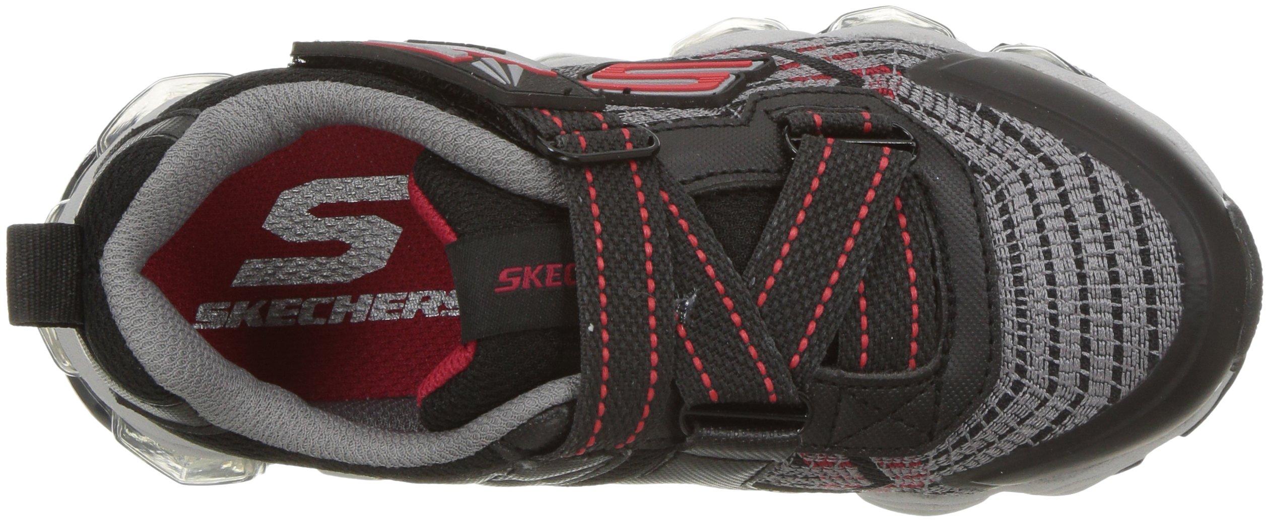 Skechers Kids Boys' Turbo-Flash-90596L Sneaker,Black/red,3 Medium US Little Kid by Skechers (Image #7)