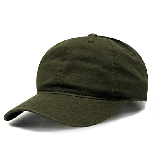 Image Unavailable. Image not available for. Color  City Hunter C103 Blank  Cotton Baseball Caps - Olive af970fe2c2e
