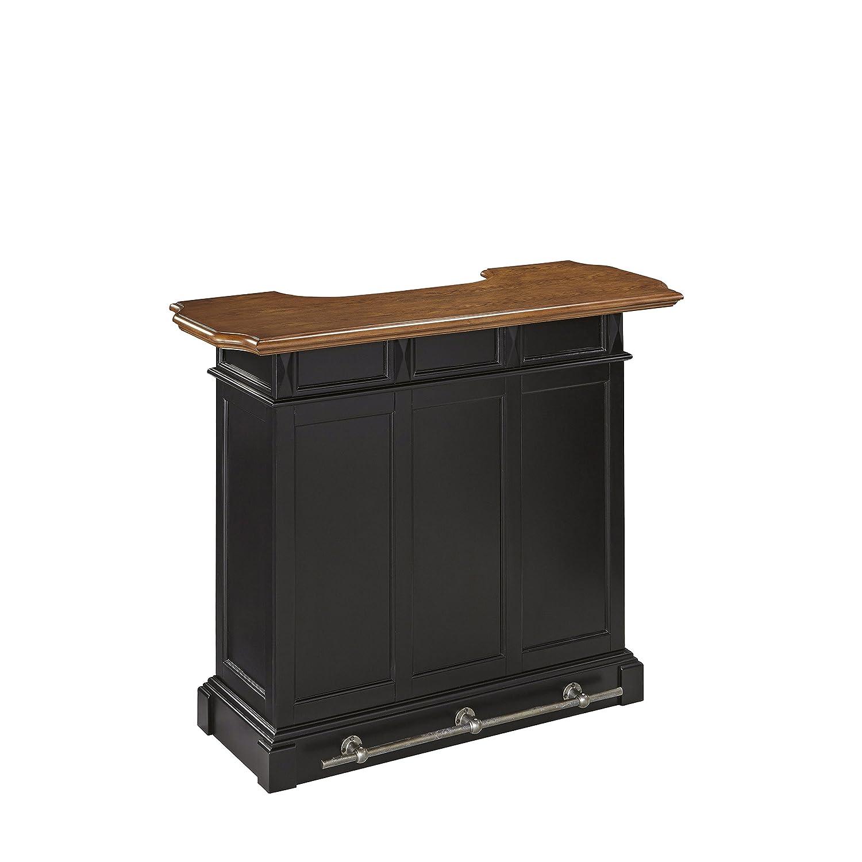 Amazon.com: Home Styles Model 5002 99 White And Oak Finish Americana Bar:  Kitchen U0026 Dining