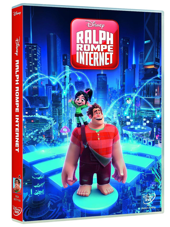 Ralph rompe internet en DVD