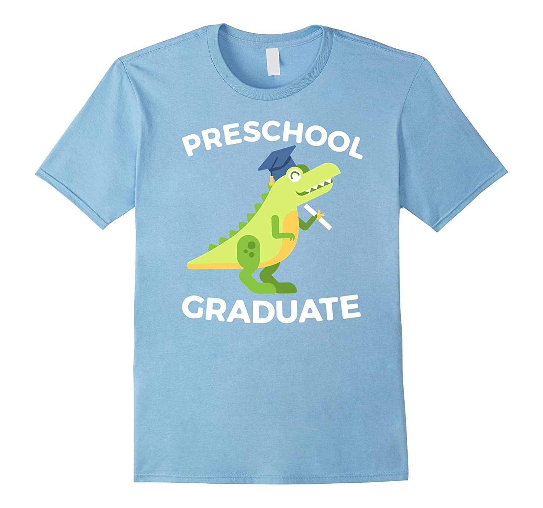Preschool Pre-K Graduation Dinosaur Gift for Boys T-Shirt-Vaci