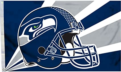 NFL Seattle Seahawks 3 by 5 Foot Flag