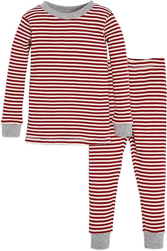 Burts Bees Baby Baby Pajamas 100/% Organic Cotton Tee and Pant 2-Piece PJ Set
