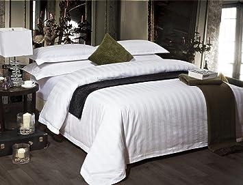 ZYJYEl Hotel Hotel Ropa de Cama Toalla edredón algodón Satin Ropa de Cama Cuatro Pedazo Jacquard Hoja Flor de la Pluma Textil: Amazon.es: Hogar