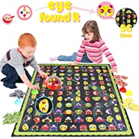 HISTOYE Clue Detective Preschool Board Games for Kids 4-6 Memory Matching Games for Kids Ages 4-8 Eye Find It Tabletop Game for Family Party Educational Toys Gifts for Boys Girls 3 4 5 6 7 8 9 and up
