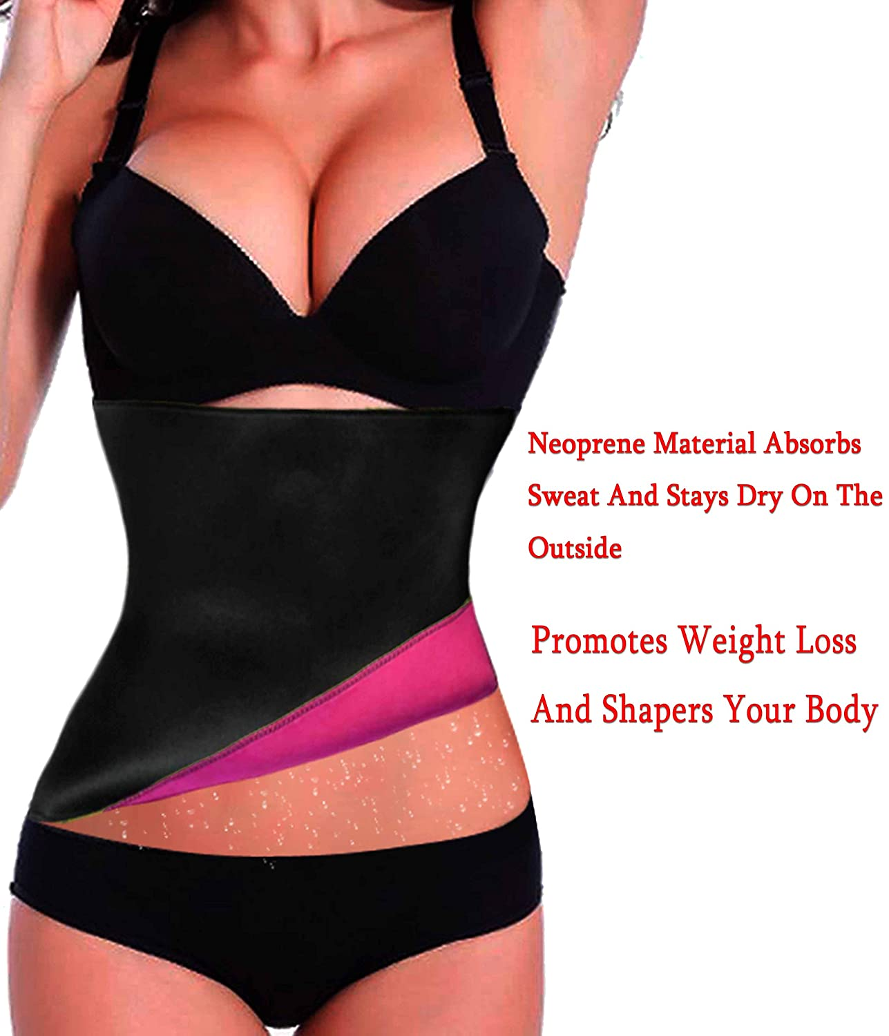 Hot Thermo Sweat Neoprene Shapers Slimming Belt Waist Cincher For Weight Loss
