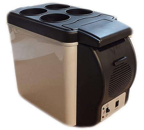 707ffc6b4b4 CAR FRIDGE ELECTRIC COOL BOX COOLER MOTOR HOME CAMPING FRIDGE + WARMER 6L  AC41  Amazon.co.uk  DIY   Tools