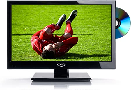 Xoro HTL 1546 40 cm (15 pulgadas) LED de televisor (HD Ready, sintonizador triple DVB-S2/T2/C, H.265/hevc incorporados, reproductor multimedia, USB 2.0): Amazon.es: Electrónica