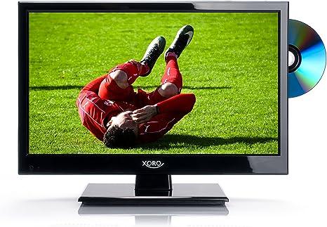 Xoro HTL 154640cm (15pulgadas) LED de televisor (HD Ready, sintonizador triple DVB-S2/T2/C, H.265/hevc incorporados, reproductor multimedia, USB 2.0)