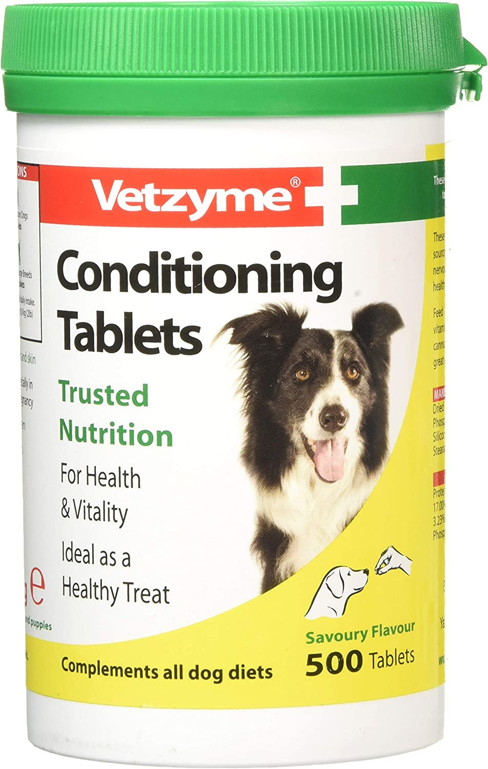 Vetzyme Conditioning Tablets, 500 Tablets