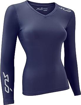 Sub Sports Camiseta Interior Térmica de Compresión de Invierno de Manga Larga para Mujer: Amazon.es: Ropa y accesorios