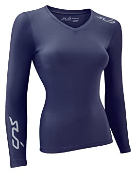 Sub Sports Cold Winter - Top interior térmico para mujer, color Azul, talla S