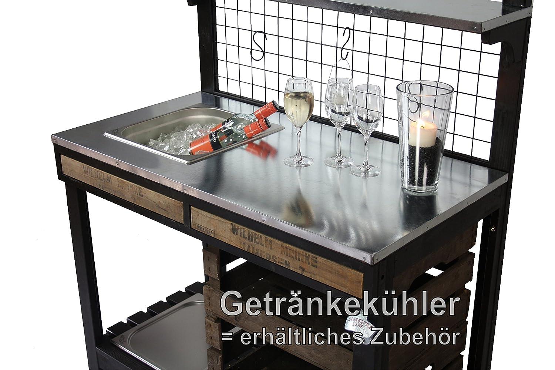 Outdoorküche Garten Edelstahl Zubehör : Outdoorküche pico mit edelstahl einbaugrill grilltisch bartisch