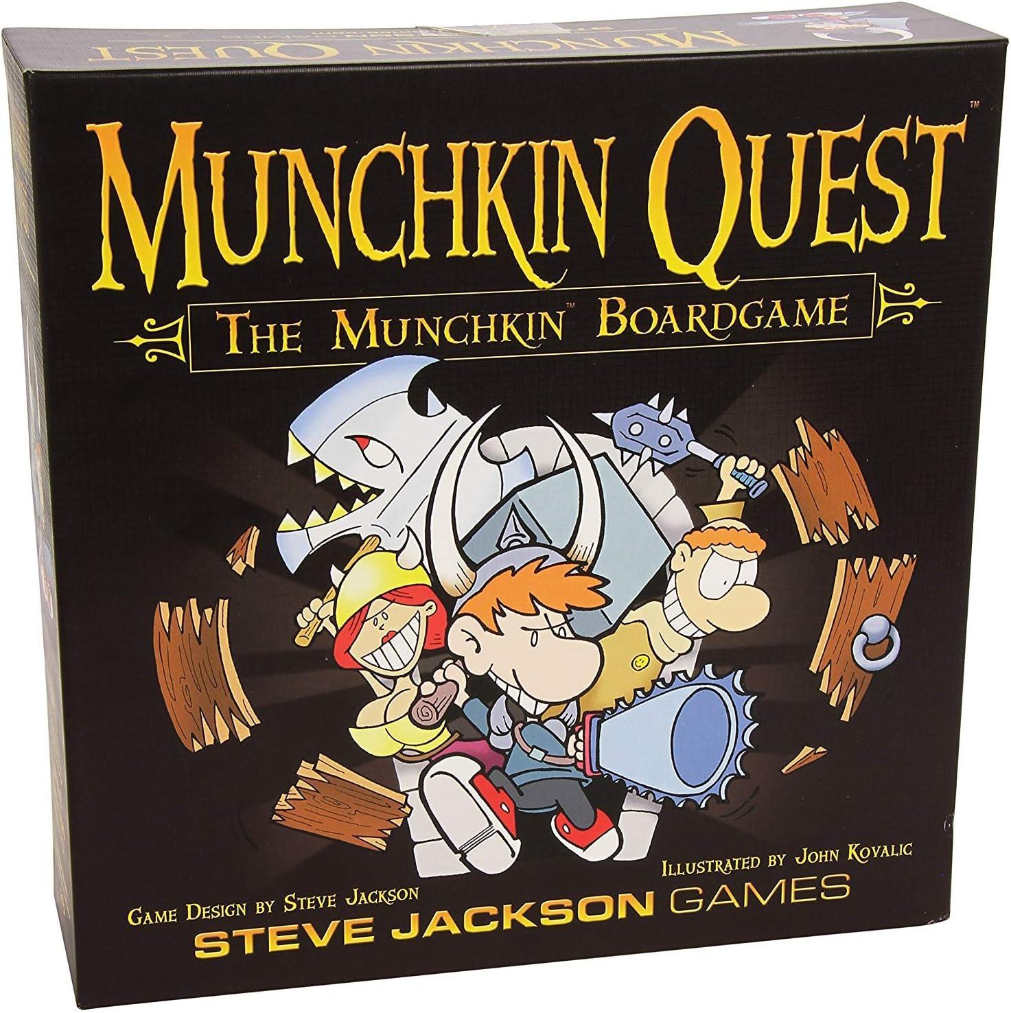 Munchkin 1470SJG - 1470SJG Quest: Edge: Amazon.es: Juguetes y juegos