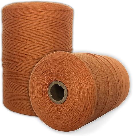 Durable Loom Warp Thread 800 YARDS Perfect for weavi... Gray 8//4 Warp Yarn