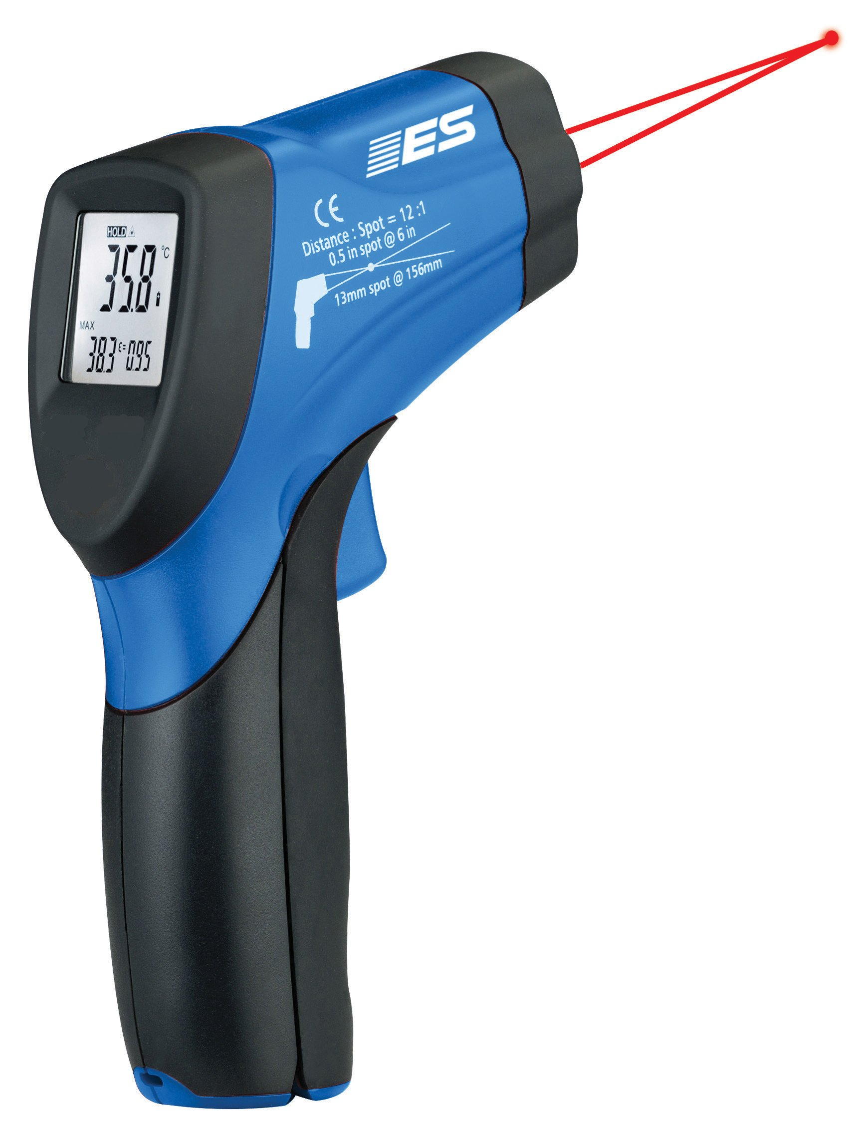 Electronic Specialties EST-67 Twin Laser IR Thermometer