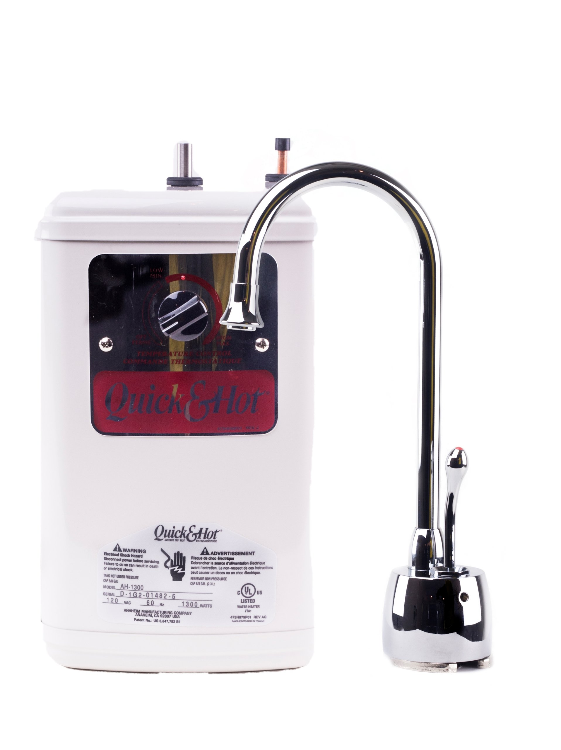 Waste King H711-U-CH Hot Water Dispenser Faucet and Tank Combo Unit by Waste King