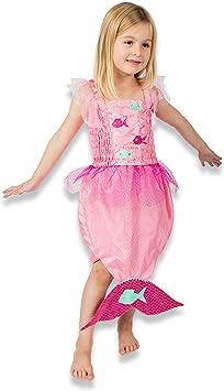 Lucy Locket - Disfraz de Sirena para niños (3-6 años), Color Rosa ...