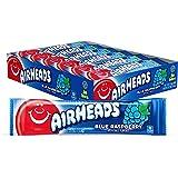 Halloween Airheads Bars, Blue Raspberry, 0.55 Ounce (Pack of 36) BlueRaspberry .55 oz
