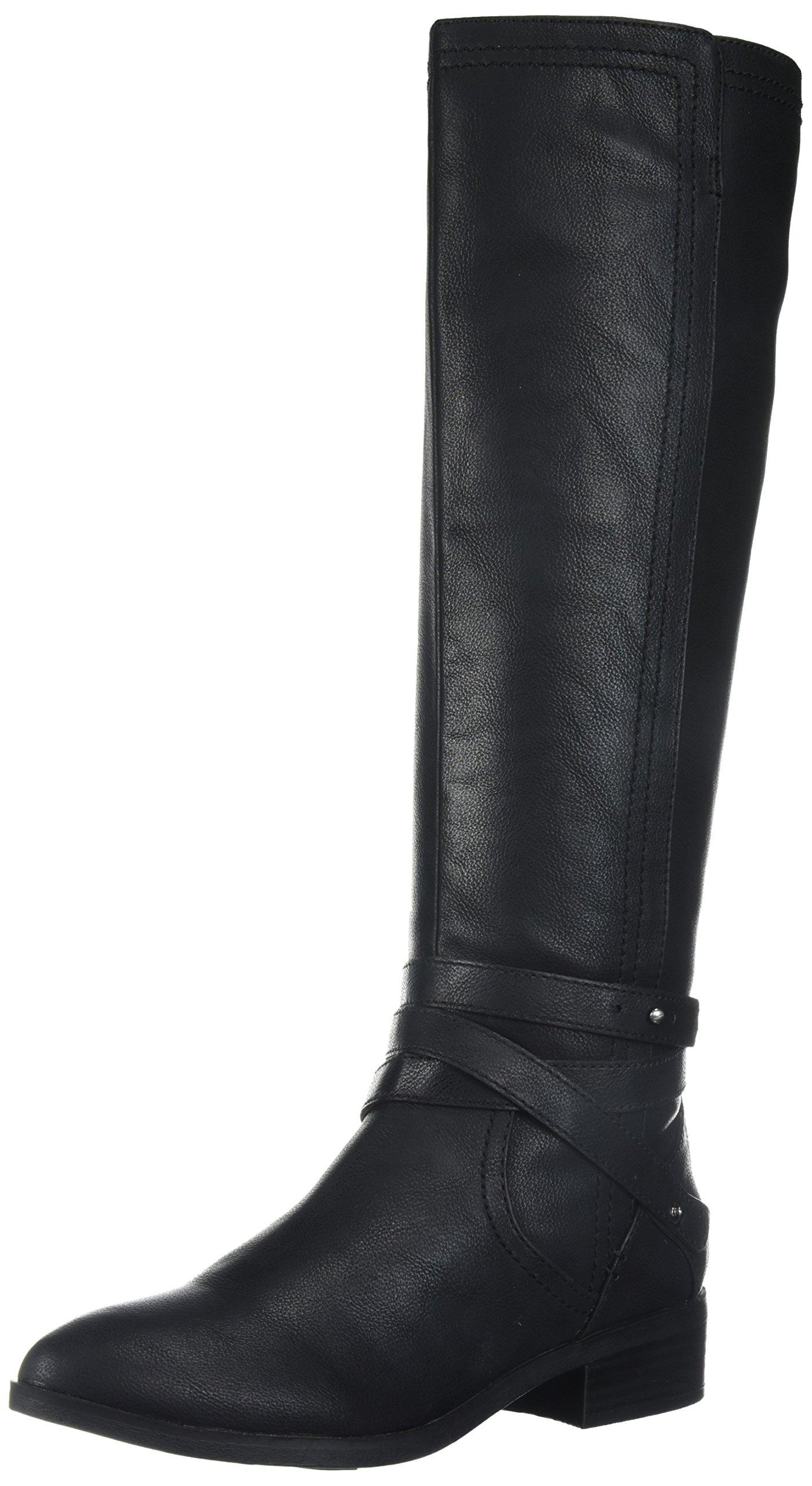 Fergalicious Women's Lennin Riding Boot, Black, 10 M US