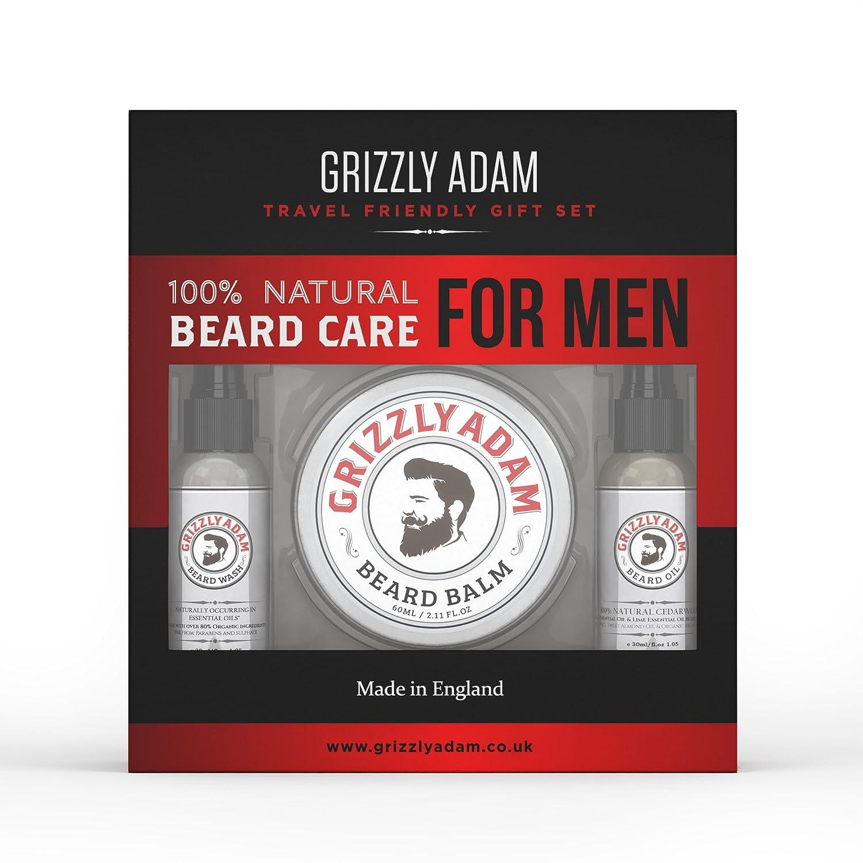 Traveling Luxury Beard Care Gift Set Woodsman Beard Company