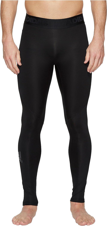 adidas Men's Alphaskin Sport Long Tights Black Large: Clothing