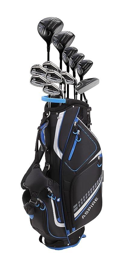 Amazon.com: Juego completo de palos de golf de 19 piezas ...