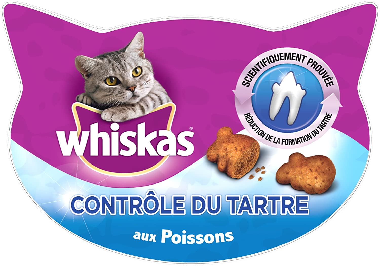 Whiskas, Dulces para gatos, caja de 40 gr, Pack de 8: Amazon.es: Productos para mascotas