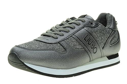 LIU-JO GIRL Scarpe Donna Sneakers Basse UM23279A Taglia 40 Canna di Fucile   Amazon.it  Scarpe e borse 2e4822390c4