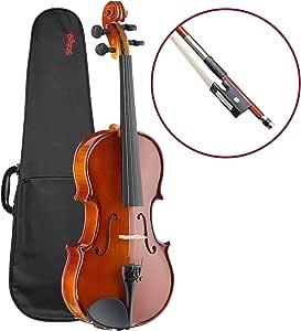 Stagg - Violín (madera de arce, incluye maletín): Amazon.es: Instrumentos musicales