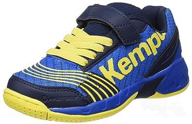 Kempa Jungen Attack Junior Sneakers, Blau (07), 34 EU(2 UK)