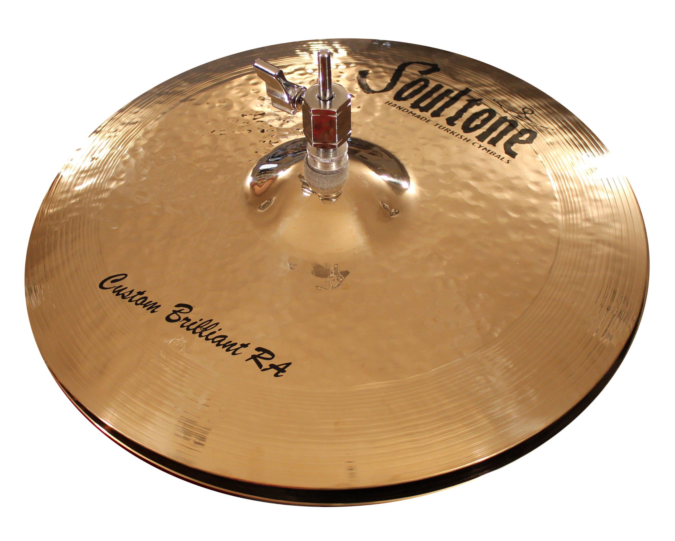 Soultone Cymbals CBRRA-HHTT15-15'' Custom Brilliant RA Hi Hat Top Only by Soultone Cymbals