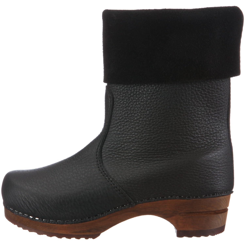 e763ce75c Sanita  Alison  Roll-top Clog Boots in Black (Art  454444) - Size 41   Amazon.co.uk  Shoes   Bags
