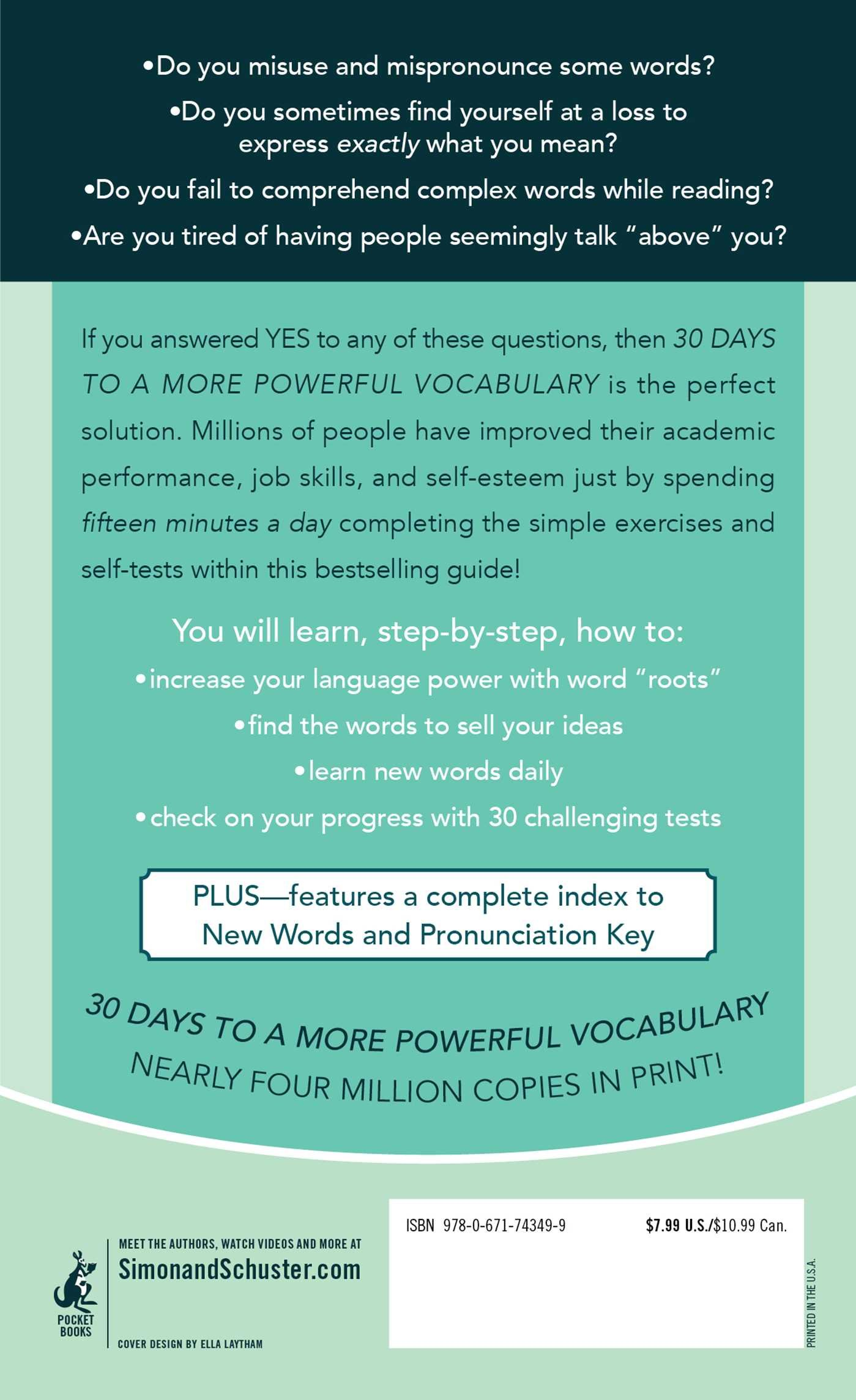 30 Days To A More Powerful Vocabulary Amazon In Funk Books