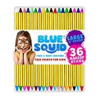 Face Paint Crayons 36 for Kids, 36 Jumbo 3.25