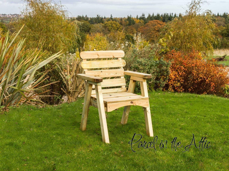 Mesa de jardín madera maciza Zaragoza juego de utensilios para comer mesa sillas banco de utensilios para chimenea asiento - 10 años de garantía contra rojo, Chair: Amazon.es: Hogar