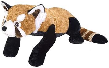 Amazon Com Wild Republic Jumbo Red Panda Plush Giant Stuffed